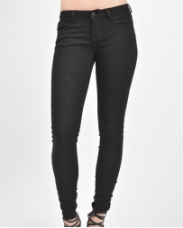 Kancan® Ladies' Black Ankle Skinny Jean