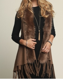 Younique® Ladies' Luxury Fur Vest