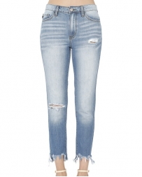 Kancan® Ladies' Unfinished Skinny Hem