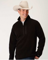 Stetson® Men's 1/4 Zip Black