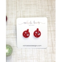Nichole Lewis® Ladies' Ornament Studs
