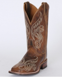 "Justin® Bent Rail® Ladies' Tan Damiana 11"" Boots"
