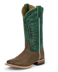 Justin® Boots Bent Rail® The Luckenbach Green