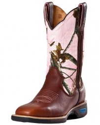 Cinch® Ladies' Waterproof Camo Work Boot
