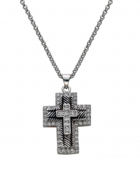 Montana Silversmiths® Men's Double Cross Necklace