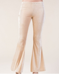 Ladies' Velvet Bell Bottoms Pants