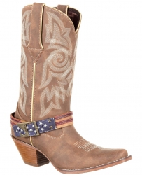 Durango® Ladies' Flag Accessory Western Boot