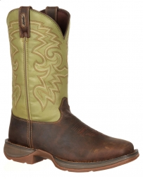 Durango® Men's Coffee & Cactus Pull-On Western Boots