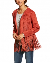 Ariat® Ladies' Fireside Faux Suede Jacket