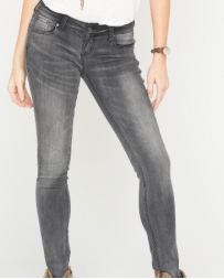 Grace in LA Ladies' Faded Grey Basic Skinny