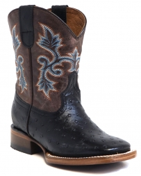 Tanner Mark Boots® Boys' The Duke Ostrich Print Boot