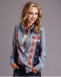Stetson® Ladies' Bandana Oversized Shirt