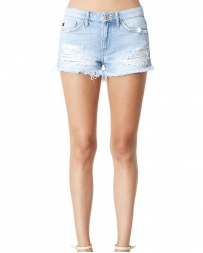 Kancan® Ladies' Light Destroyed Short