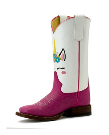 Anderson Bean Boot Company® Girls' Macie Bean Pink Sensation Boot - Youth