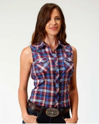 Roper® Ladies' Sleeveless Snap Shirt
