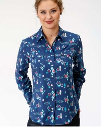 Roper® Ladies' Summer Aztec Printed Shirt