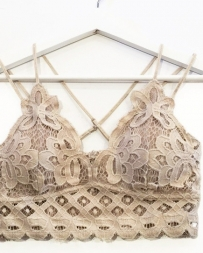 Younique® Ladies' Crochet Lace Bralette