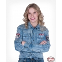 Cowgirl Tuff® Ladies' Denim USA Shirt