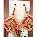 XOXO Art & Co® Ladies' Pendelton Concho Earrings