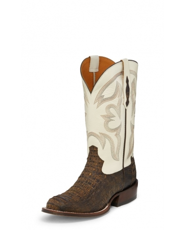 Tony Lama® Men's Zachary Barnwood Caiman