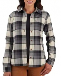 Carhartt® Ladies' Rugged Flex Hamilton Fleece Lined Shirt