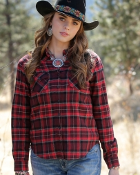 Cruel® Ladies' Girlfriend Fit Brushed Flannel