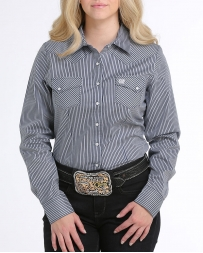 Cinch® Ladies' Pearl Snap Stripe Shirt