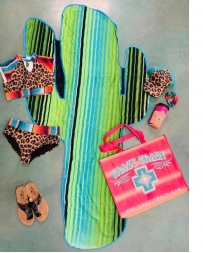 Crazy Train® Cactus Shaped Towel