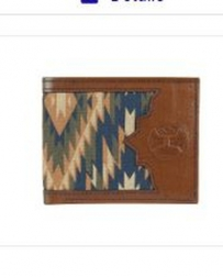 Hooey® Men's Aztec Canvas Wallet