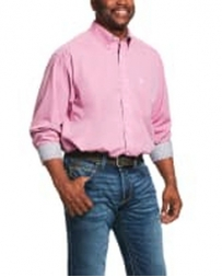 Ariat® Men's Classic Wrinkle Free LS Solid Shirt