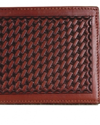 3D Belt Company® Men's Basketweave Wallet