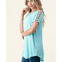 Vision® Ladies' Strappy Sleeve A-Line Top Plus
