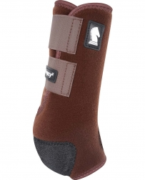 Equibrand® Legacy Protective Front Boots - Chocolate