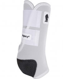 Equibrand® Legacy Protective Front Boots - White