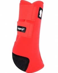 Equibrand® Legacy Protective Front Boots - Red