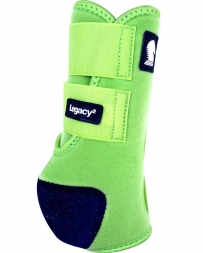Equibrand® Legacy Protective Front Boots - Lime