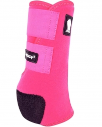 Equibrand® Legacy Protective Front Boots - Fuchsia