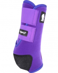 Equibrand® Legacy Protective Front Boots - Purple