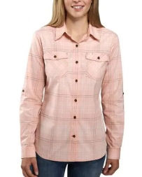 Carhartt® Ladies' Rugged Flex Plaid Shirt