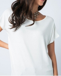 Vocal® Ladies' Basic Top With Stones