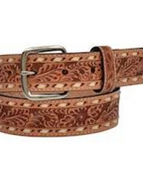 3D Belt Company® Boys' Tan Tooled Belt