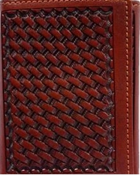 3D Belt Company® Men's Tooled Wallet