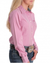 Cinch® Ladies' LS Button Shirt