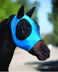 Professional's Choice® Comfort Fit Lycra Fly Mask - Pacific