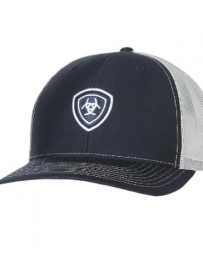 Ariat® Logo Cap Mesh Back Navy