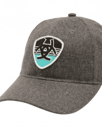 Ariat® Logo Cap Snap Grey