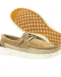 Hey Dude Shoes® Men's Wally Grip Beige Shoes