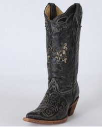 Corral Boots® Ladies' Vintage Lizard Inlay Boots