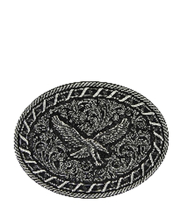 Montana Silversmiths® Laced Up Eagle Attitude Buckle