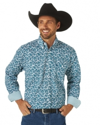George Strait® Men's LS Button Down Paisley Shirt - Big and Tall
